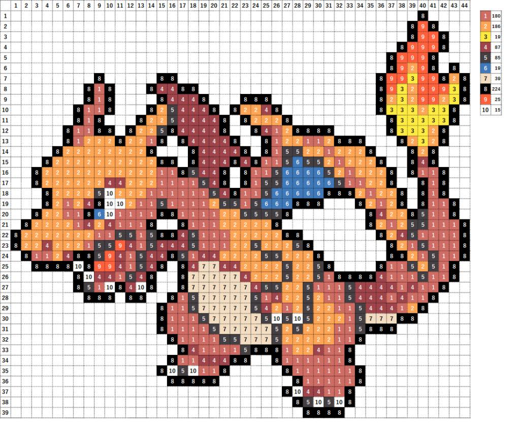 Pokemon ポケモン 図案 006 リザードン Charizard