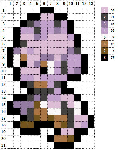 Pokemon ポケモン 図案 236 バルキー Tyrogue