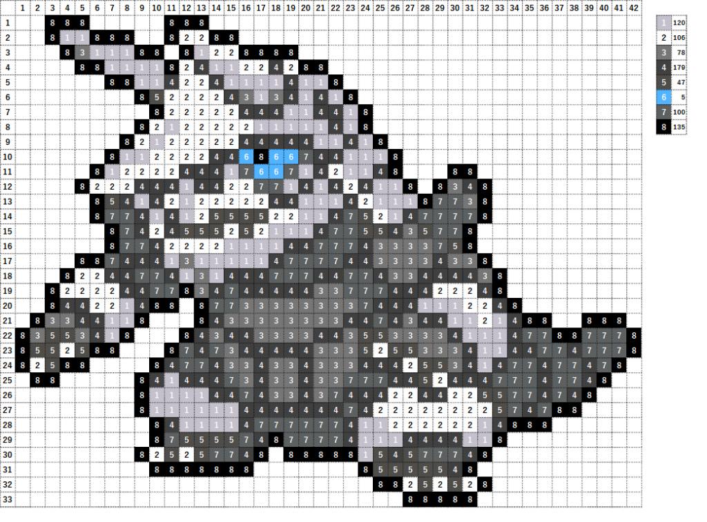 Pokemon ポケモン 図案 306 ボスゴドラ Aggron