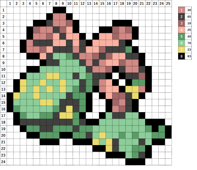 Pokemon ポケモン 図案 346 ユレイドル Cradily