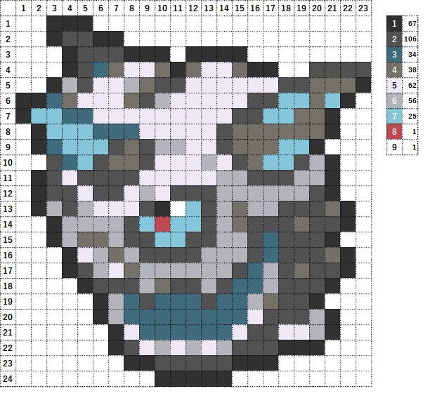 Pokemon ポケモン 図案 362 オニゴーリ Glalie