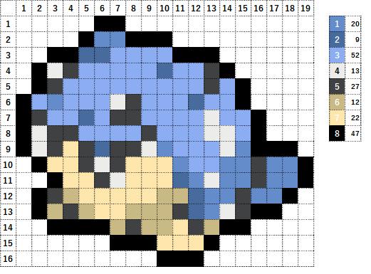 Pokemon ポケモン 図案 363 タマザラシ Spheal