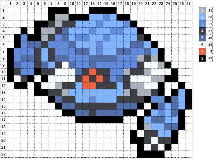 Pokemon ポケモン 図案 375 メタング Metang