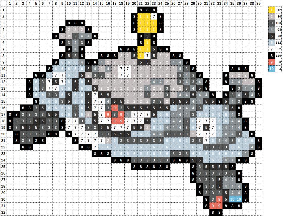 Pokemon ポケモン 図案 462 ジバコイル Magnezone