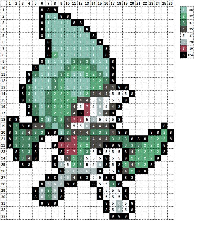 Pokemon ポケモン 図案 475 エルレイド Gallade