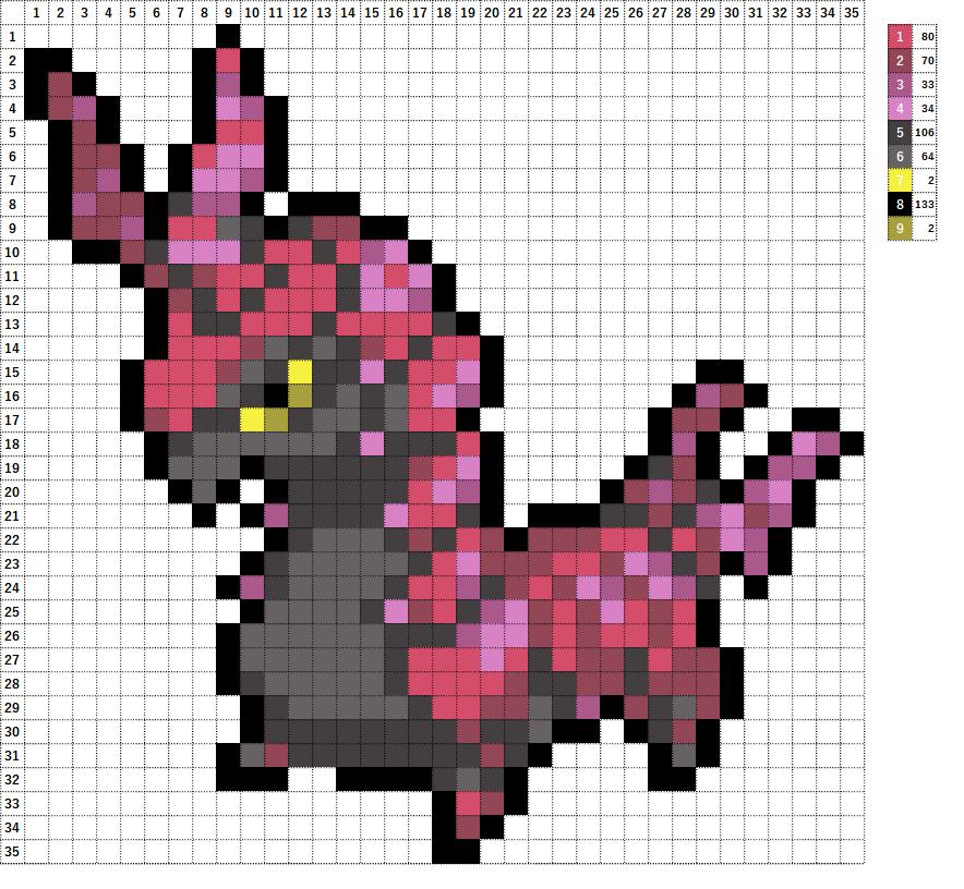 Pokemon ポケモン 図案 545 ペンドラー Scolipede