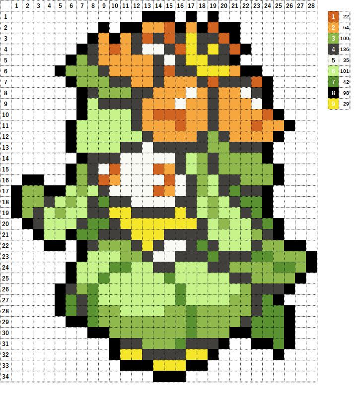 Pokemon ポケモン 図案 549 ドレディア Lilligant