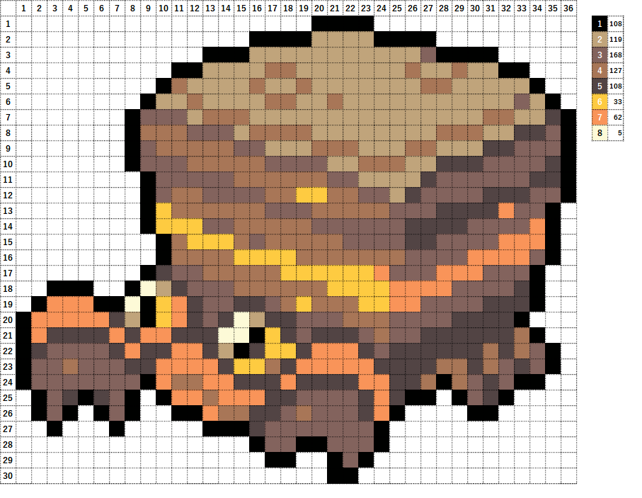 Pokemon ポケモン 図案 558 イワパレス Crustle