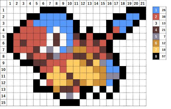 Pokemon ポケモン 図案 566 アーケン Archen
