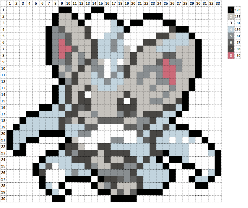 Pokemon ポケモン 図案 573 チラチーノ Cinccino